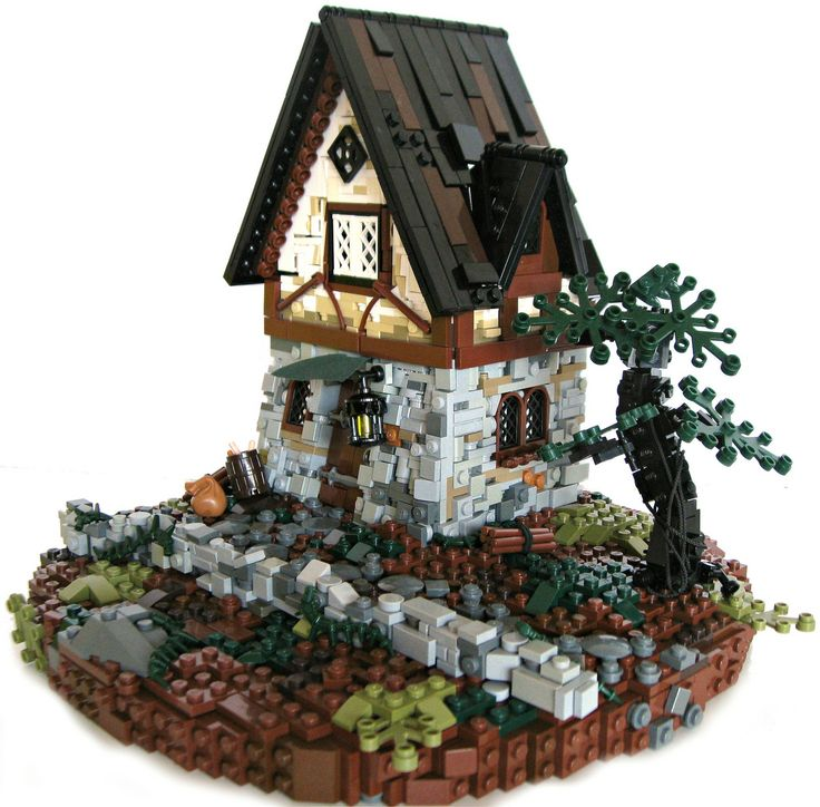 TT Intro: A final goodbye (Main). Find this Pin and more on Lego Medieval  Houses ...