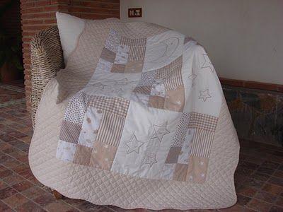 El Patchwork de Mi Casa: Colcha de Bebé