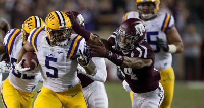 LSU-Texas A&M football: TV channel time live stream odds picks (November 25 2017)