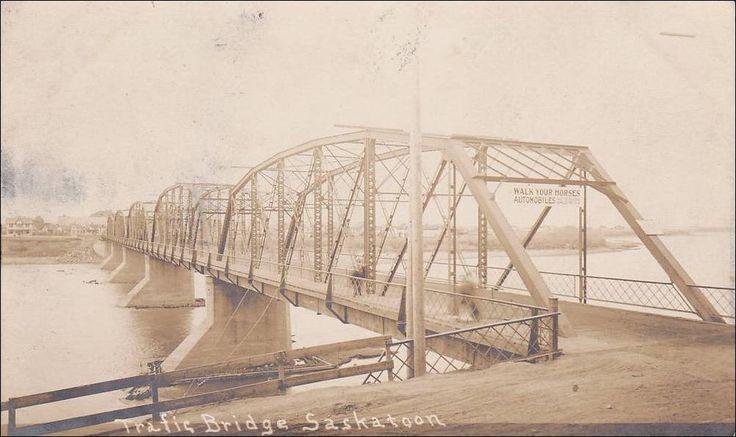 RP: Traffic Bridge , SASKATOON , Saskatchewan , Canada , 1900-10s