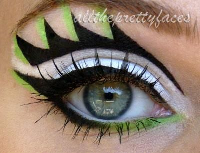 DIY Halloween Makeup : Dragon Wing
