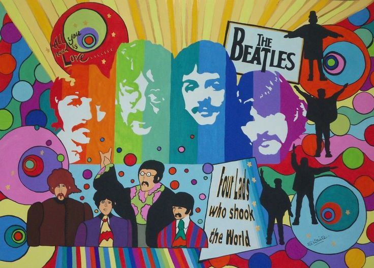 THE FAB 4 Beatles Montage
