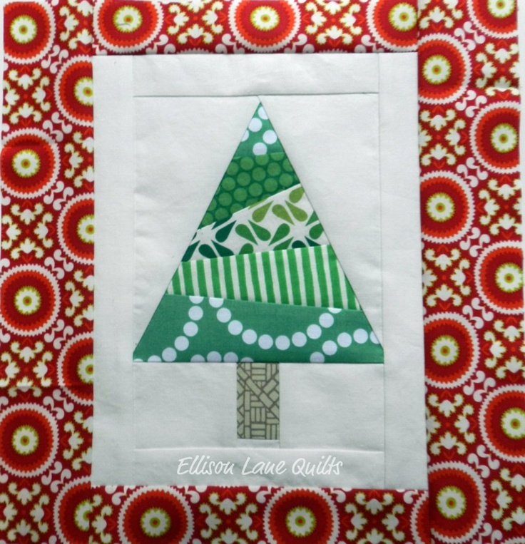 Paper Pieced Christmas Tree Pattern: 119 Best Images About Free Paper Piecing Quilt Patterns On