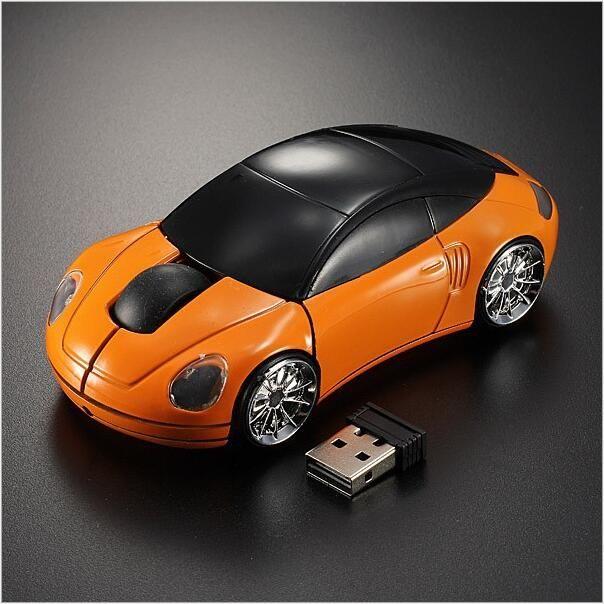 RiQi мини беспроводная мышь творческий мышь автомобиля рекламные подарки
