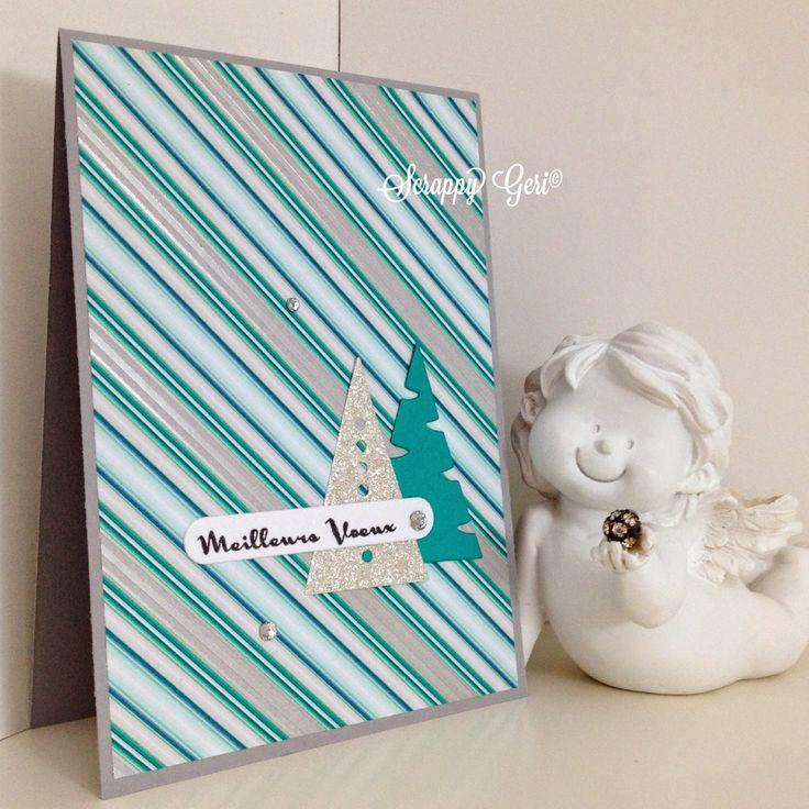 Le blog de Scrappy Géri | Meilleurs Voeux en Simply Graphic |  Coucou!     Me revoilà avec quelques cartes de vœux!     Pour cela, j'ai avec grand plaisir sor...