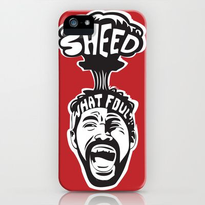 'Sheed Protest iPhone  iPod Case by Oyl Miller - $35.00