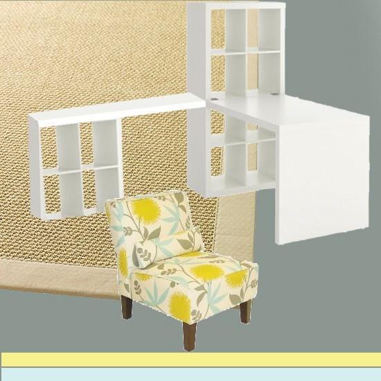 Office Idea with Ikea expedite