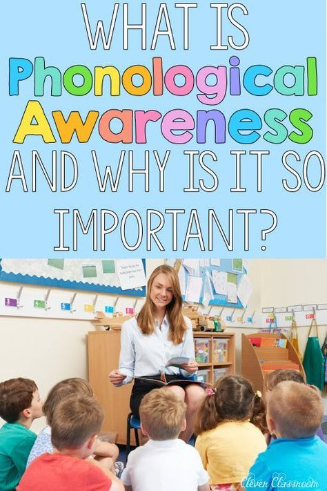 What is Phonological and Phonemic Awareness?