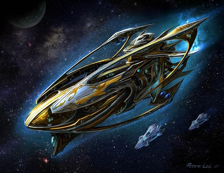 StarCraft Protoss Carrier