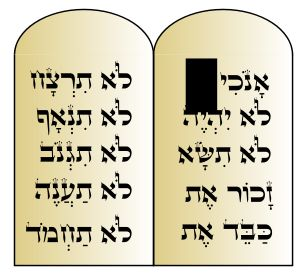 10 Commandments by @Ronit, Ten Commandments from the bible