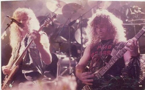 Dave Mustaine and Kerry King