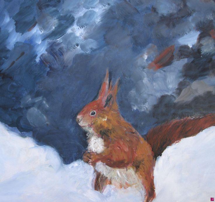 scoiattolo di Gisela Wendy Krüger