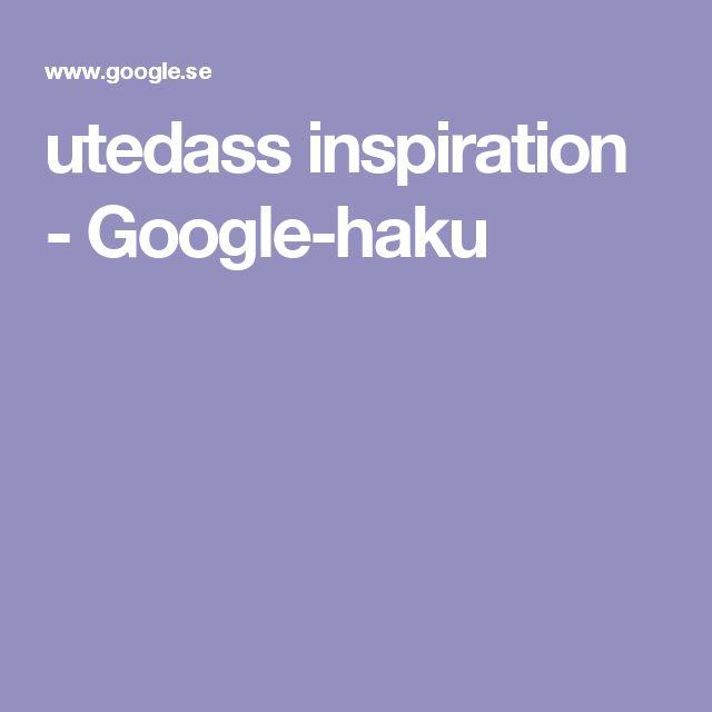 utedass inspiration - Google-haku