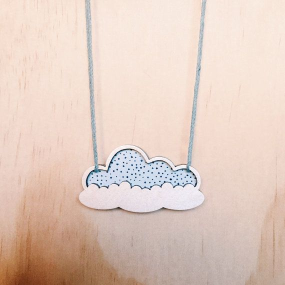 Hey, I found this really awesome Etsy listing at https://www.etsy.com/au/listing/250124039/cloud-necklace-wooden-necklace