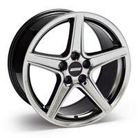 Saleen Black Chrome Wheel - 18x9 (94-04 All) - American Muscle Wheels 10105