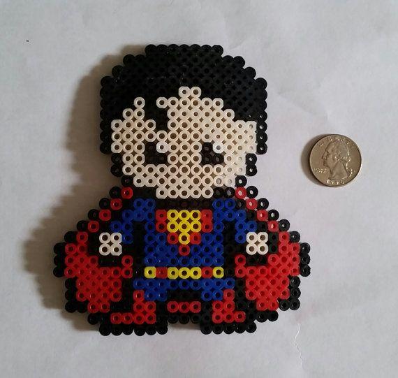Superman et Logo Perler perles
