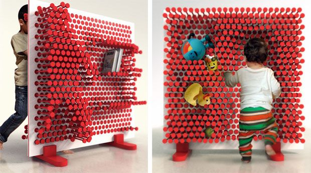 Pin Pres by OOO My Design is a toy and storage unit all in one. via cubeme. #Pin_Pres #OOO_My_Design #cubeme