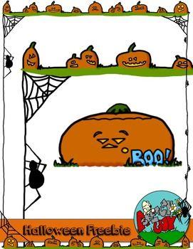 Halloween Borders Freebie