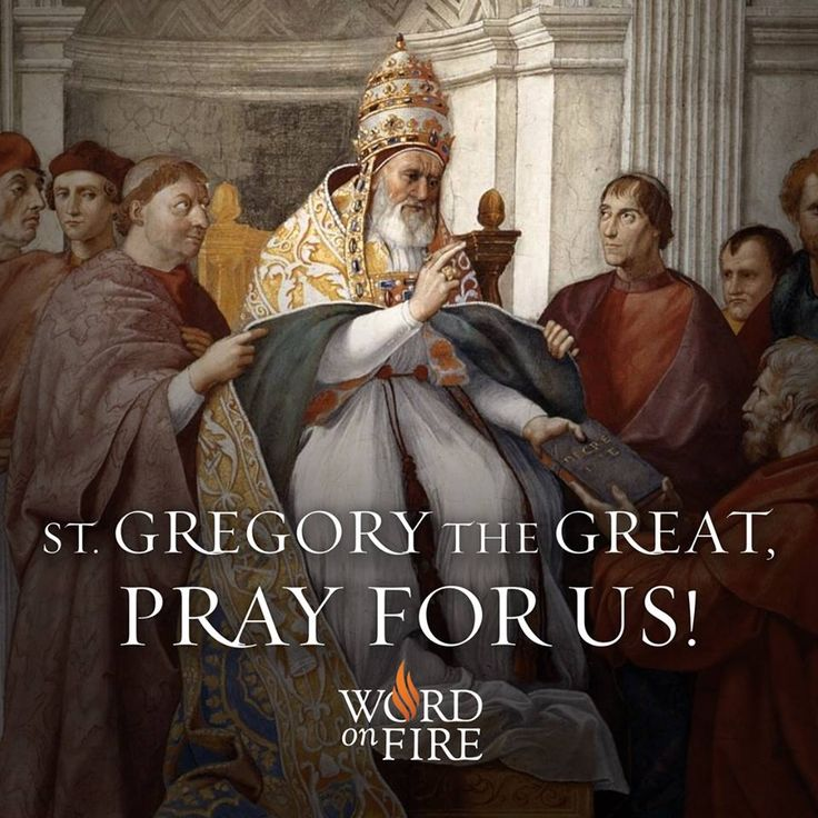 St. Gregory the Great, pray for us!  #Catholic #saintoftheday #pray #StGregorytheGreat #Pope #DoctoroftheChurch