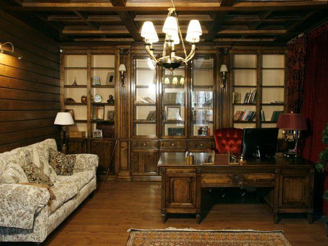 КАМЕА / Гостиные и библиотеки / Кабинет «Гриффит»