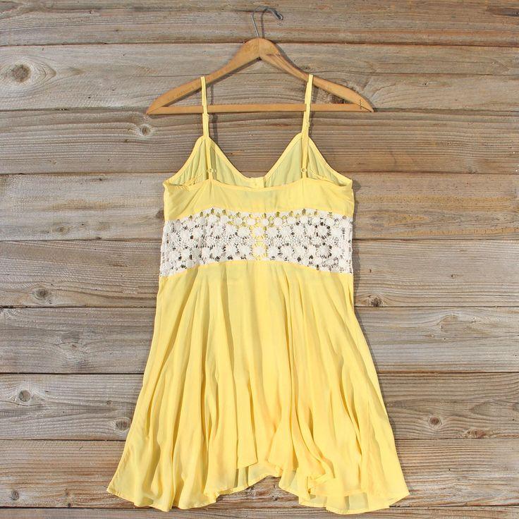 Dandelion & Lace Dress: Alternate View #4