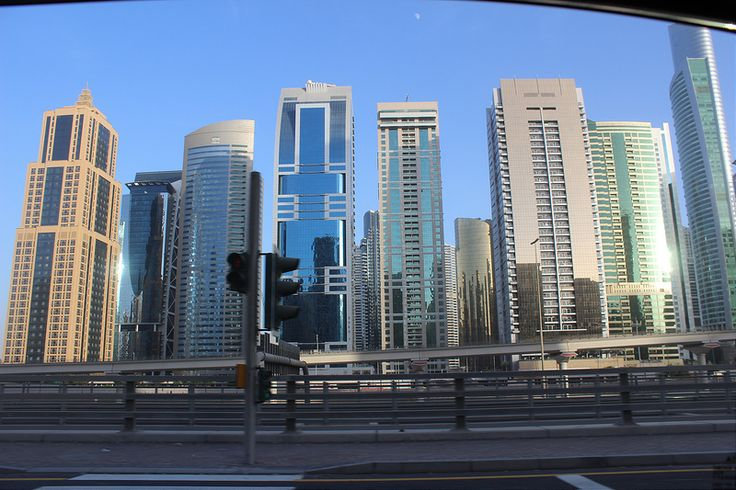 Dubai from the road 11 Thinking of visiting Dubai? GET THE BEST DEALS ON ACCOMMODATION IN DUBAI HERE Our hotel��_