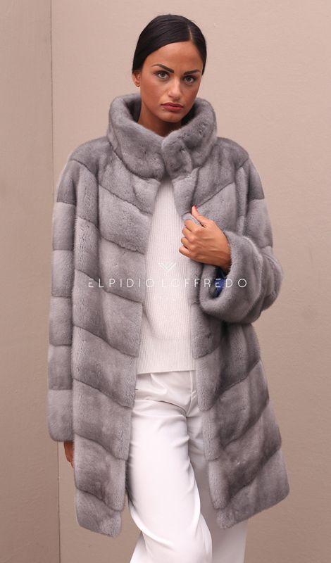 Sapphire Female Mink Coat