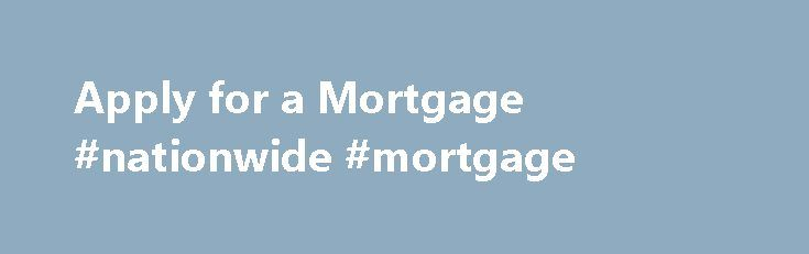 Fixed Mortgage: Nationwide Fixed Mortgage