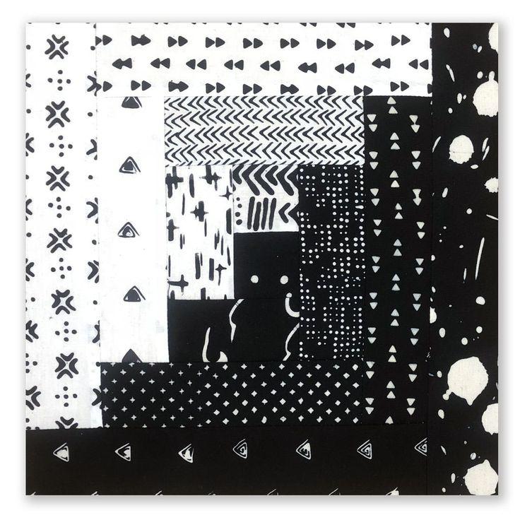 Pretty Black White Batik Quilt Pattern Ideas In 2020
