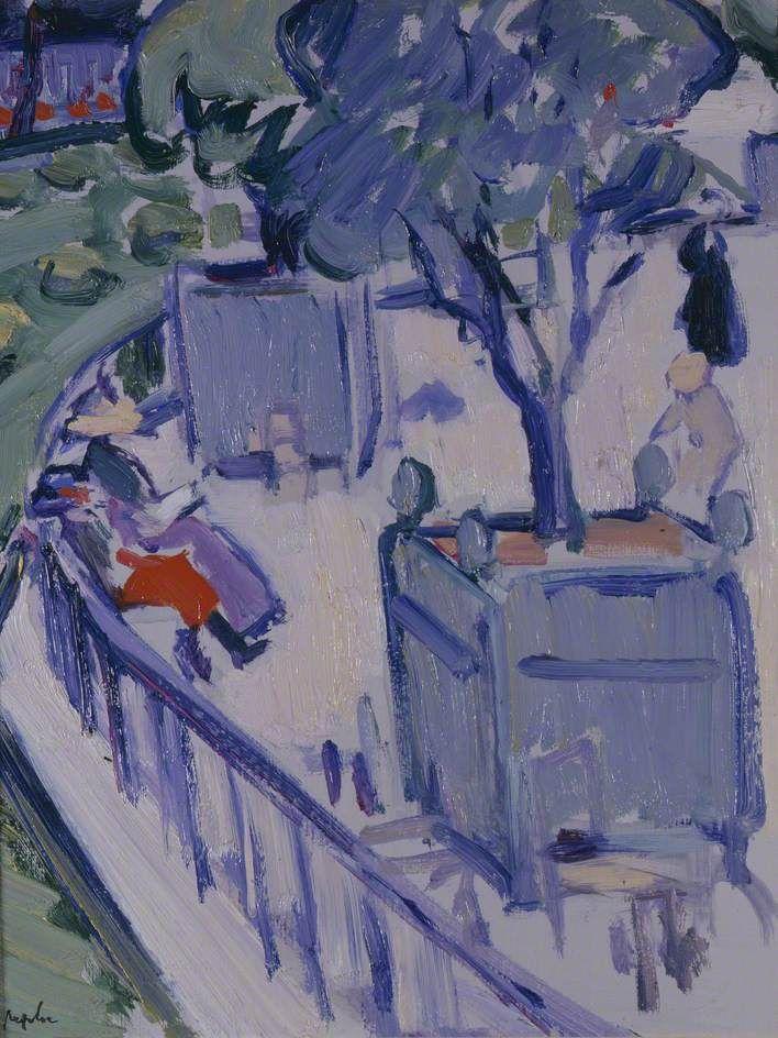 Luxembourg Gardens - Samuel John Peploe