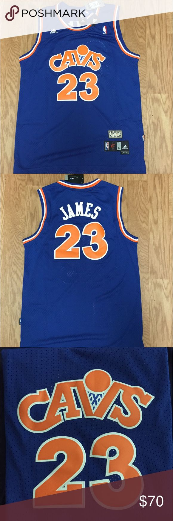 XL Lebron James throwback Cavaliers NBA jersey This is a Lebron James Cavaliers jersey with the throwback uniforms worn on the road from 87-89 season and re introduced in the 2008-2009 season. Very rare Cavs find. Excellent for Father's Day. Contact me with questions and thanks for your time adidas Other
