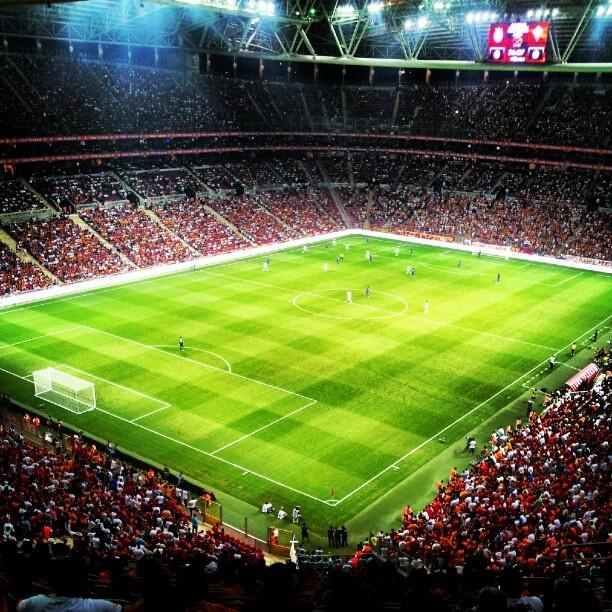 Galatasaray stadium.