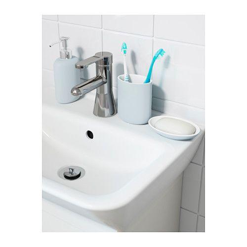 EKOLN Porte-brosses à dents - bleu clair - IKEA