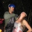 Coolest Dexter and Victim Homemade Couples Costume