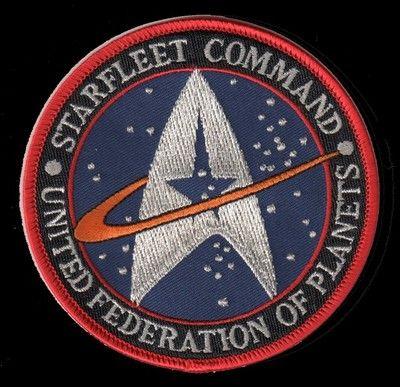 Star Trek Starfleet Command - United Federation of Planets Patch New!