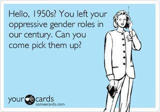 Even if Tarnished is set in the past, this is still a very good post to show how Fanny as well as the rest of upper London society needs to stop being so judgemental towards the way Cherry dresses. Also how they look down on her for the jobs she chooses to do etc. << Pick up your gender roles, 1950s.