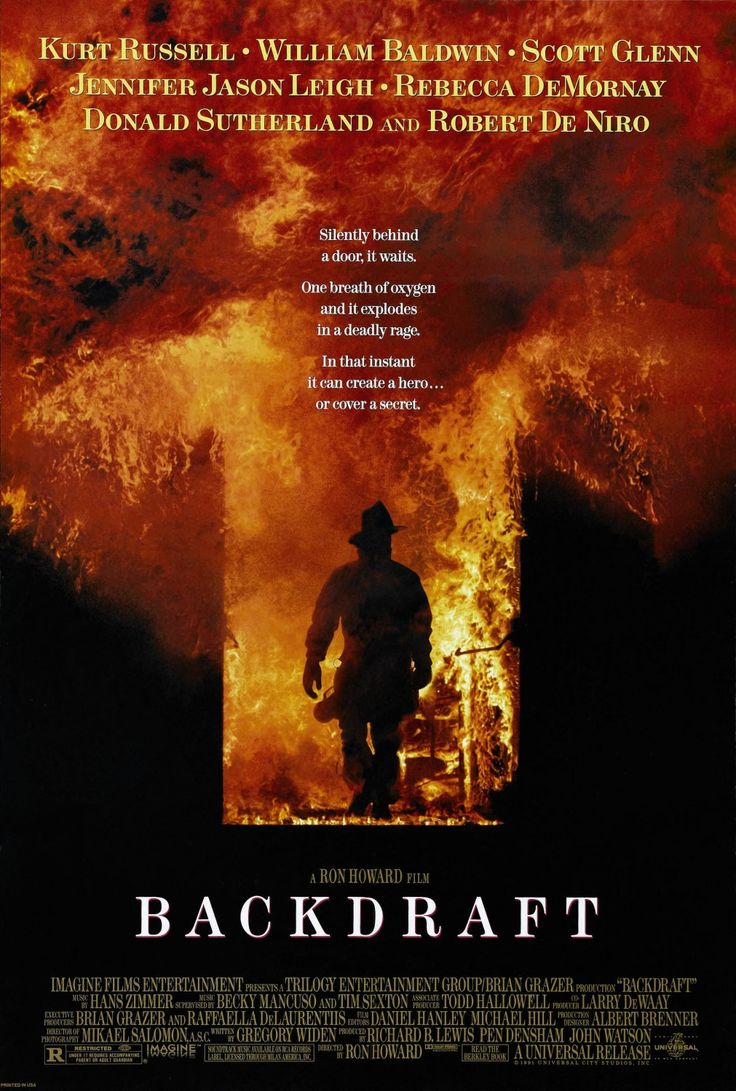 genre: action, drama, mystery, thriller           The first time I saw Backdraft I was on the edge of my seat throughout the film. Next to d...