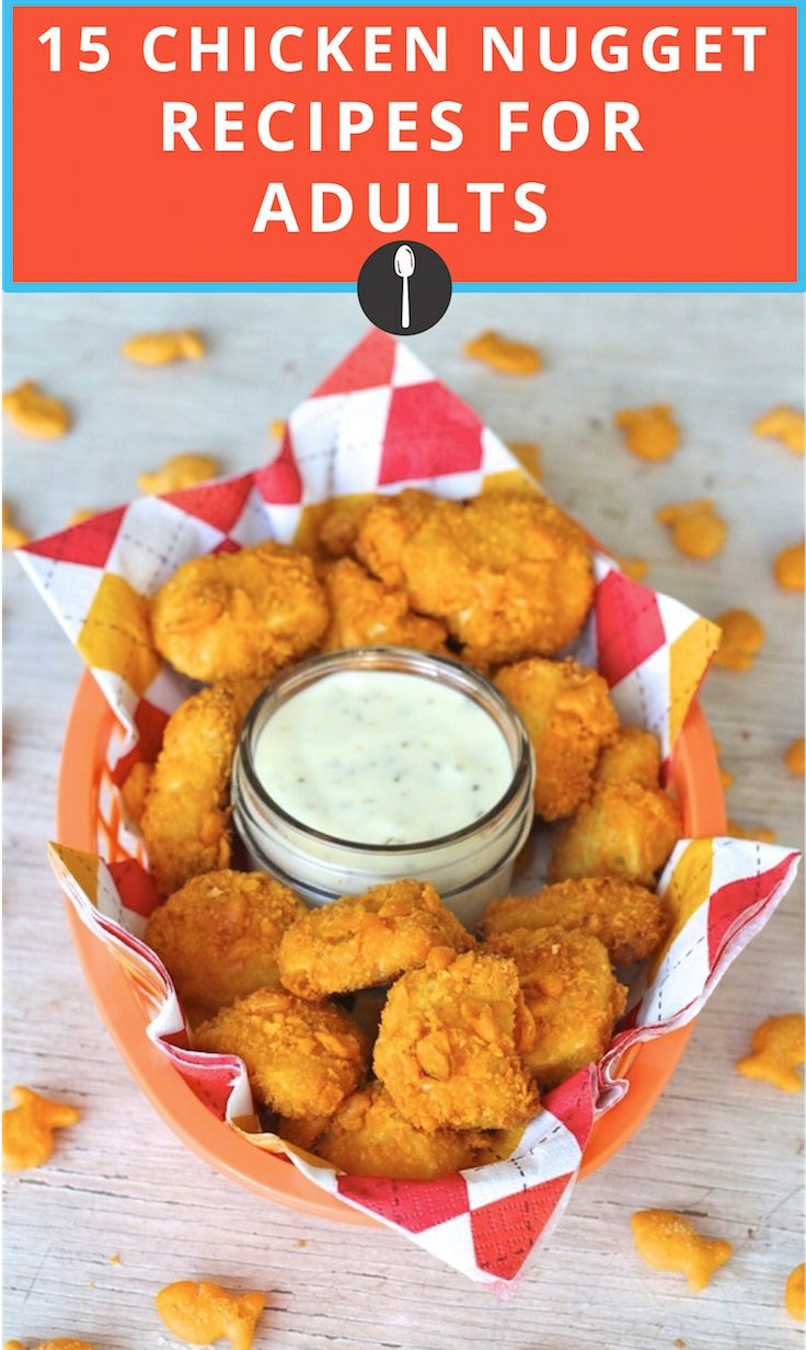 906 best food in the usa images on pinterest book cover art 15 chicken nugget recipes that are anything but childish forumfinder Image collections