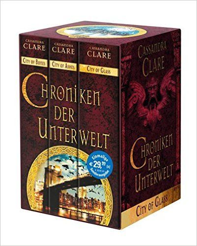 Chroniken der Unterwelt: Ciry of Bones. City of Ashes. City of Glass: Amazon.de: Cassandra Clare, Heinrich Koop, Franca Fritz: Bücher