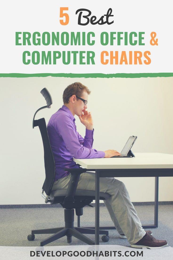 5 Best Ergonomic Office Computer Chairs 2020 Review Ergonomic