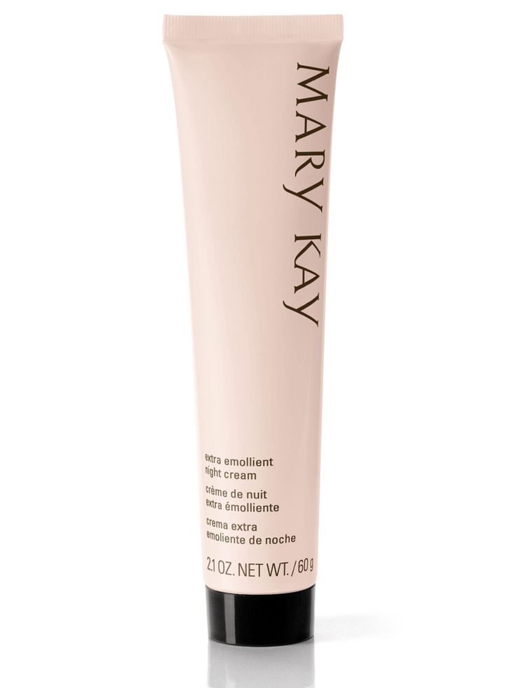 Mary Kay® Extra Emollient Night Cream smooths out the skin where your heel and your ankle meet!