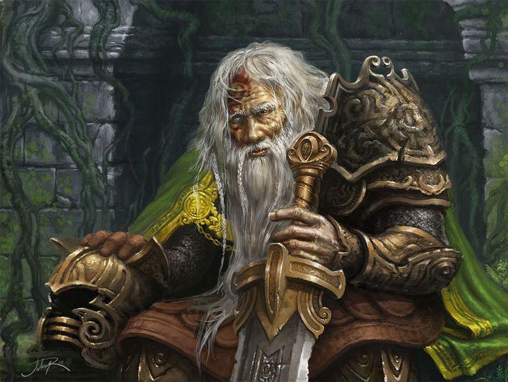 Old warrior by Sumerky.deviantart.com on @deviantART
