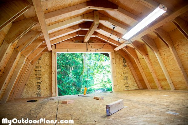 Diy 12x16 Barn Shed In 2019 Diy Shed Plans Shed Plans