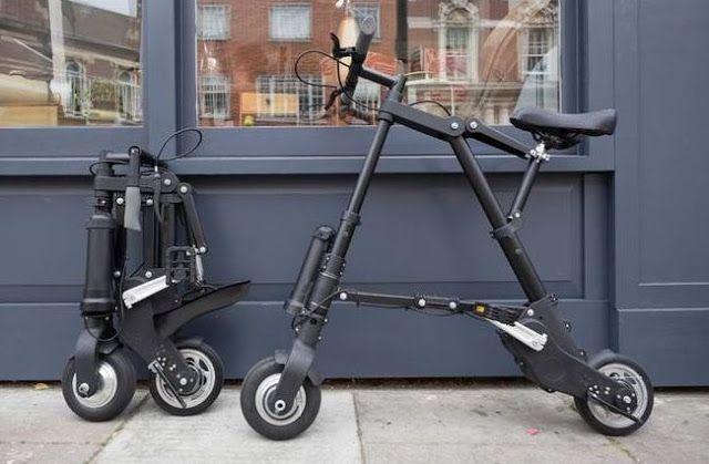Tecnoneo: A-Bike Electric: La bicicleta eléctrica más compacta y ligera del mundo llegará a finales de este año