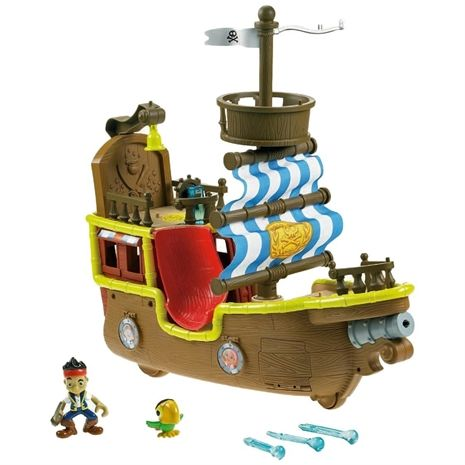 Köp Fisher Price, Jake and the neverland pirates, Bucky Pirate Ship - från Lekmer.se