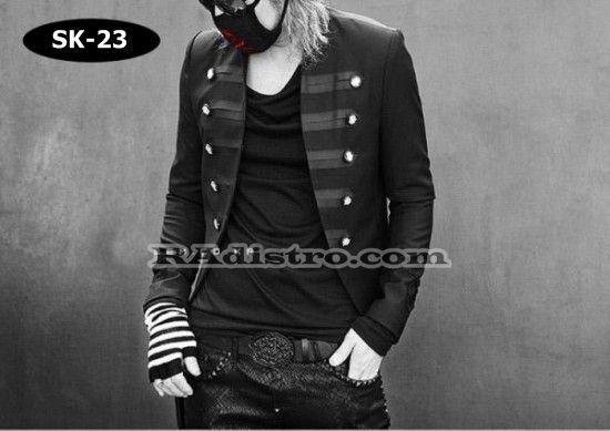 jual jas blazer jaket korea murah online (sk 23)