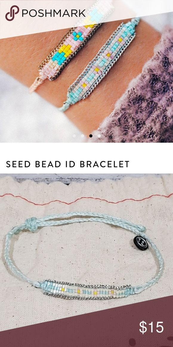 Winterfresh Seed Bead ID Pura Vida Bracelet 1 Pura Vida Bracelet-New, never worn… – My Posh Closet