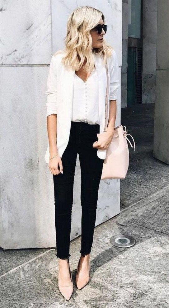 61dbf885f929a 65 chic work outfits women for summer 2019 31 ~ Litledress | Outfits ...