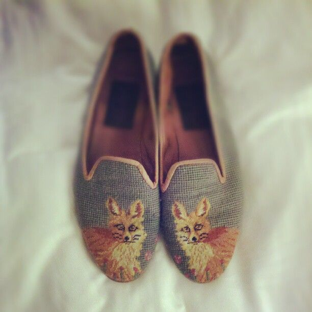 fox loafers.