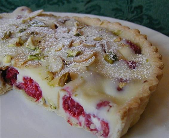 White chocolate raspberry, Tarts and Raspberry tarts on Pinterest